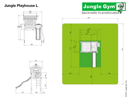 Playhouse Tower Dimensions