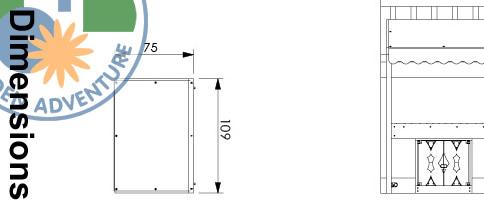 Mini Market Module Module Dimensions