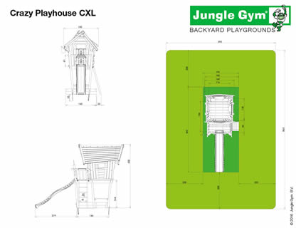 Crazy Playhouse Dimensions