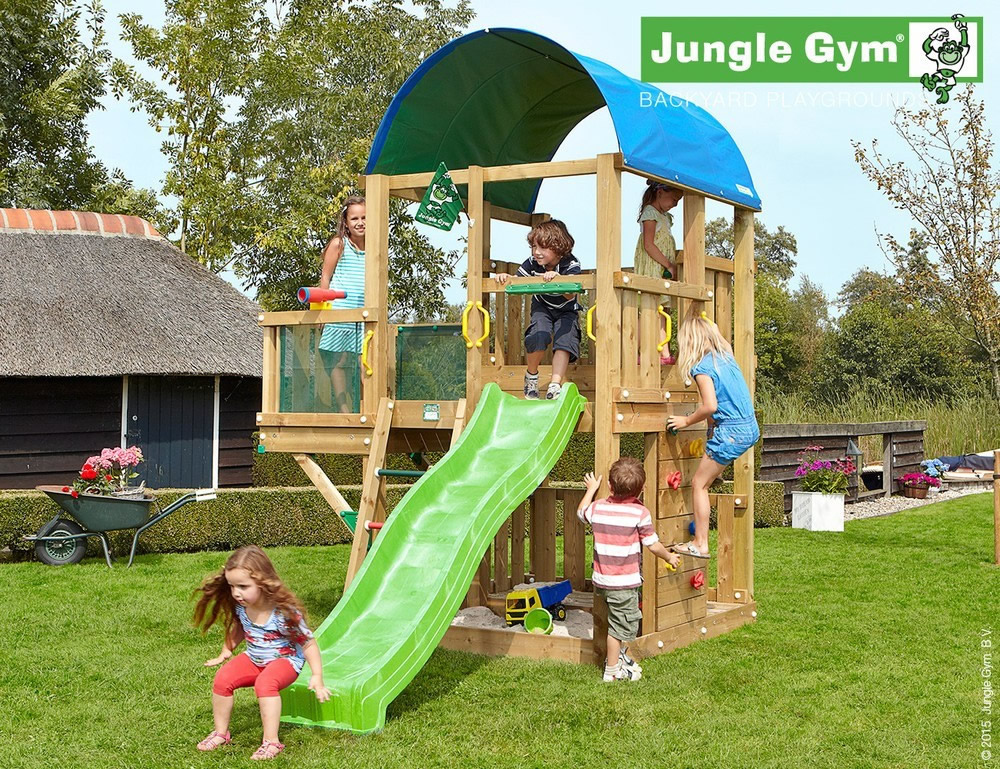 Backyard Jungle Requirements : Farm Climbing Frame with optional Modules