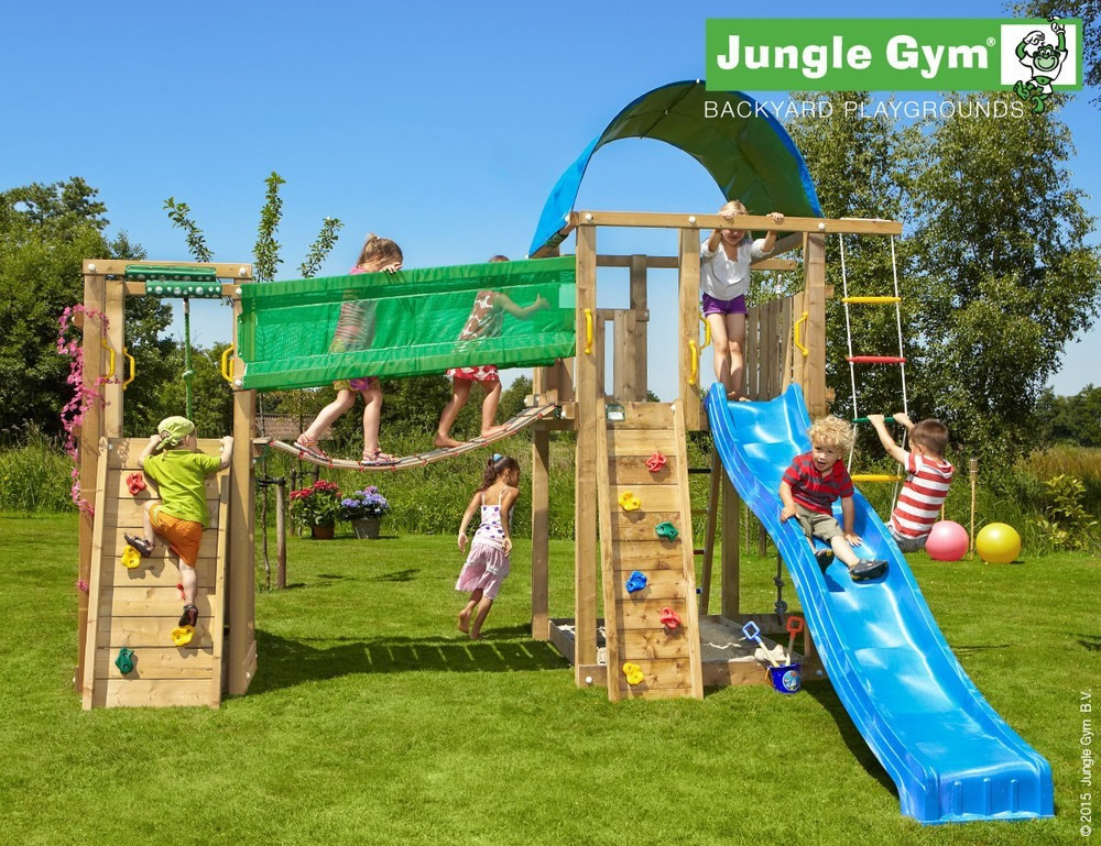 villa climbing frame jungle gym. Black Bedroom Furniture Sets. Home Design Ideas