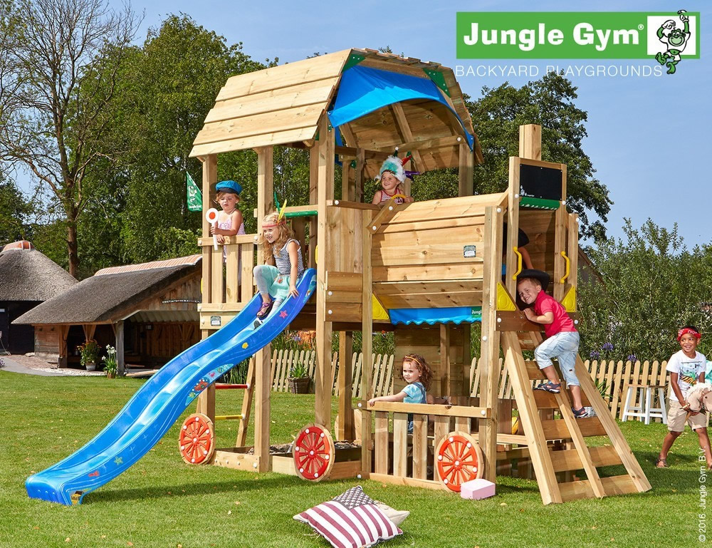 barn climbing frame jungle gym. Black Bedroom Furniture Sets. Home Design Ideas