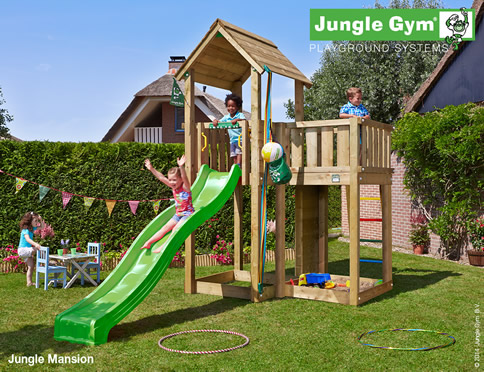 Mansion Climbing Frame